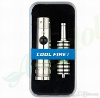 Cheap 100% original innokin cool fire 1 mod variable wattage e-cig innokin cool fire I starter kit with iclear vaporizer 15pcs