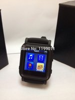 Wholesale Hot Sale Mp4 Watch Player Brand new MP4 watch lowest price MP4 Watch GB MP4 Watch With ebook By Post