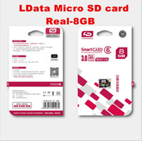 Wholesale 150pcs Real capaity LD Micro SD Card GB Class Memory Card TF trans flash card for Android Smartphone Tablet Camera