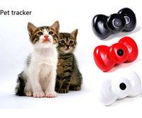 Wholesale Super mini dog cat Pet GPS Tracker Pet Video Recorder with GPS Positioning GPS Locator IOS Andriod App free website service