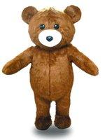 baby honey bear - Factory Outlets Hot Sale The classic plush honey baby bear Halloween Fancy Dress Cartoon Adult Animal Mascot Costume
