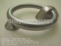 Wholesale 6pcs Classical stainless steel circular door knocker stainless steel knocker door pull
