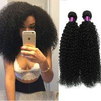 Malaysian Hair Curly Under $100 Brazilian Curly Virgin Hair 3 Bundles Natural Black Curly Hair Extensions Brazilian Kinky Curly Virgin Hair Wefts Kinky Curly Hair Weaves