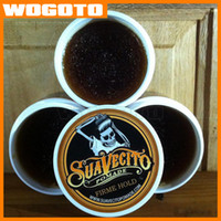 Wholesale 2016 New Suavecito Pomade Hair Oil waxes Strong style restoring ancient ways is big skeleton hair slicked back DHL Fast Ship