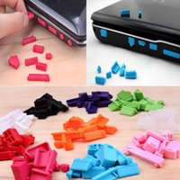Wholesale set Silicone Anti Dust Plug Protective Ports Cover Stopper Notebook Laptop