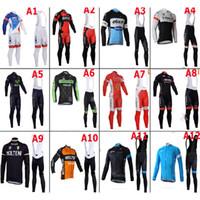 Wholesale Fleece Thermal for winter Black blue Tour de France cycling jersey mountain bike ropa ciclismo bicycle MTB bicicleta clothing D gel pad BIB