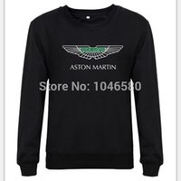 aston martin cap - new fashion design Sweatshirt Aston Martin Logo British Sports Cars AstonMartin mens Hoodies hoddys print no cap fleece