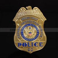 art agency - The United States federal protection agency agent FPS badge badge Copper Commemorative Medallion