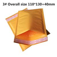 Wholesale Bubble Mailers Padded Envelopes Bags KRAFT BUBBLE MAILERS MAILING ENVELOPE BAG x130mm quot X5 quot