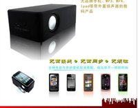 Wholesale CUBE Boose Amplifying Speaker Wireless Audio Intreaction Induction Speaker For Android S G Samsung HTC pcspk1