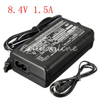 Wholesale New Arrival Universal AC V For DC V A Wall Battery Power Charger Adapter for Sony Camcorder HDR CX XR SX HC IP