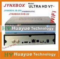 Wholesale JynxBox Ultra HD V7 FTA Satellite Receiver Wi Fi Edition JYNXBOX JB200
