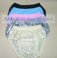 Wholesale FUUBUU2211 Open front waterproof pants nappies old pants open before use more convenient