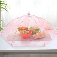 bamboo tent - OCEA Food Umbrella Cover Picnic Barbecue Party Sports Fly Mosquito Net Tent PEPU