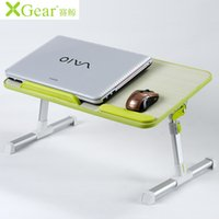 Wholesale The new race whale A6 A8 laptop table with cooling fan folding bed table desk desk