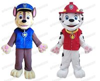 Wholesale Patrol Marshall Patrol Chase mascot costume Adult fancy dress cartoon character suit party costumes