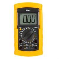 Wholesale Vici VICHY VC890C LCD Digital Multimeter DMM Ammeter Voltmeter Ohmmeter W Capacitance Temperature Test