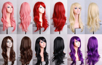 Wholesale Cosplay Wig Hairpiece Brazilian Hair Human Hair Wigs Brazilian Hair Bundles Lace Closure Ladies Long Straight Fancy Full Hair Clip Wig Costu