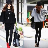 best thick leggings - 2015 New arrival Hot sale best quality New Leggings For Women Arrival Casual Warm Winter Faux Velvet Legging Thick Slim Leggin