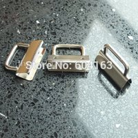 Wholesale Hardware Clamps Key Fob Hardware For keychain Split ring wrist Wristlets Cotton quot or mm Nickle