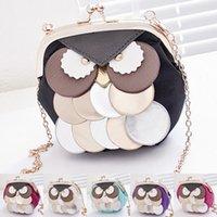 Wholesale New Fashion Owl Woman Small bags handbags women famous brand Vintage Chain crossbody Shoulder bag clutch carteira bolsa feminina