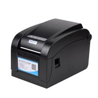 Wholesale 100 High Quality mm Direct Thermal Barcode Label Printer Bar code Printer Sticker Printer USB Serial RS232 Ethernet in Interface