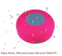 Vendita calda! Portatile senza fili impermeabile Mini Speaker Bluetooth Subwoofer Doccia Car Handsfree Mic Ricevi chiamata Musica altoparlanti bluetooth DHL