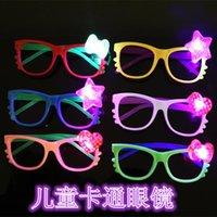 Wholesale glowing glasses Flash glasses