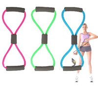 Wholesale Tube Workout Exercise Elastic Yoga Resistance Band Fitness Equipment Type