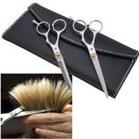 Wholesale Sets Of Inch Haircut Barber Scissors Tool Package Flat cut Teeth cut