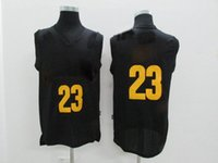 Wholesale Top quality New Arrival LeBron black Men s basketball jerseys