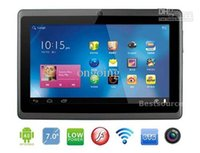 Wholesale 7 quot Allwinner A13 Q88 Tablet PC Android Capacitive Screen WiFi Camera GHz MB DDR3 GB