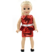 Wholesale 2016 best selling Lovely fashion Doll Clothes fits