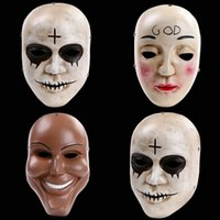 animations program - 1PCS Clear Program Human Television animation film grade resin mask performances haunted house props