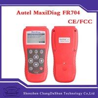 audi fr - 100 Original Autel MaxiScan FR704 Code Scanner Reader FR OBDII OBD2 EOBD Scan Tool