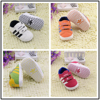 Wholesale 2016 New Spring styles First Walker Shoes sports infant shoes unisex Non slip soft bottom infant Toddler Shoes Moccasins shoes E578