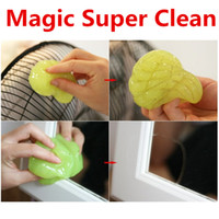 Wholesale Magic Cleaning Gel Cleaner Car Cleaner Super Clean Soft Gel Dust Clean High Tech Cleaning Compound for Laptop Keyboard