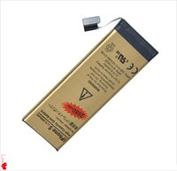 Wholesale Gold for iPhone plus s c s High Capacity Gold Batterij Replacement Li ion Battery only US ePaket