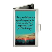 beads quotes - Funny Quotes For Life Love Custom Design Unique Business Card Holder Pocket Wallet Name ID Credit Case Stainless Steel Box Case