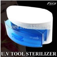 Cheap The Factory Wholesale Free Shipping UV Sterilizer Cabinet For Tools And Nail Towel UV Disinfection Equipment Sterilizer Box A5