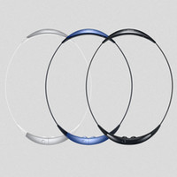Wholesale Samsung Gear Circle SM R130 Wireless Bluetooth neckband earphones headphones for Iphone s plus samsung S6 edge