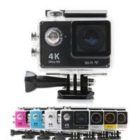 Precio de Camera underwater-Cámara impermeable subacuática SJ4000 SJ5000 SJ6000 de la leva de la cámara 60fps 170D de la acción de la cámara H9 WiFi de la acción de Ultra HD 4K