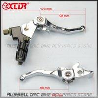 Acheter Vélos pliants pièces-Pliante levier d'embrayage et le levier de frein pour dirt bike / pit bike pièce de rechange motocross
