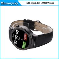 answers rounding - Smart Watch NO Sun S2 Round screen Bluetooth Watch for Samsung HTC Xiaomi Huawei iphone s iOS Android Smartphone