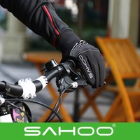 Wholesale 2015 Newest SAHOO Cycling outdoor Gloves winter bicycle gloves cycling gloves for keep warm road Bike MTB gloves full finger degree