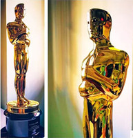 trophy award - DHL delivery can be lettering Oscar trophy award gold antimony tin copper alloy metal crafts oscar trophy replica plastic