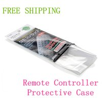 air conditioner protector - 2015 New Heat Shrink Film TV Air Conditioner Video Remote Control Protector Cover set