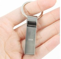 flash drive 8gb key - Waterproof Metal Silver usb flash drive pen drive GB GB GB GB GB pendrive with key ring u disk memory disk usb2