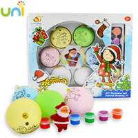 Wholesale 2015 New Children s Easter Eggs Diy Cartoon Hand Painted Eggshell Coloured Drawing Or Pattern Handmade Toys Xmas Gifts