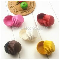 Wholesale Hot Disposable Cupcake Paper Cup Kitchen Baking Tools Muffin Cases Cups Home Party Cake Decorating Tools